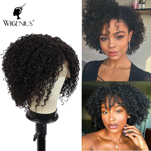 Kinky Curly  L Part Lace Front