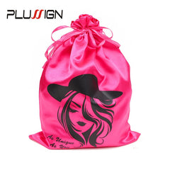 Silk Satin Bags For Wigs, Hair Extensions, Bundles and more