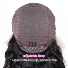Loose Deep Wave Brazilian Natural Color Remy Human Hair T Part Lace Wig