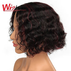Deep Wave Lace Part Human Hair Wig