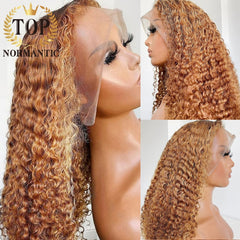 Jerry Deep Curly Wig Lace Front