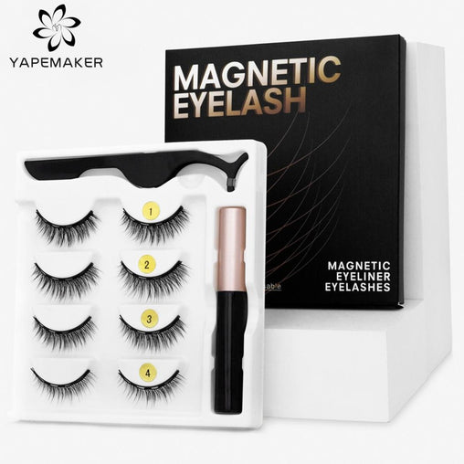Magnetic 3D Mink Eyelashes