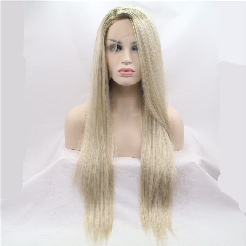 Blonde Long Silky Wig