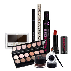 Qibest Full Face Makeup Set