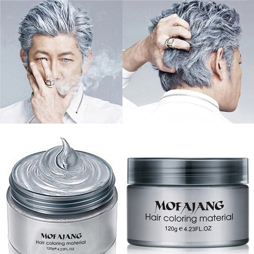 Dark Grey Mofajang Hair Dye Cream