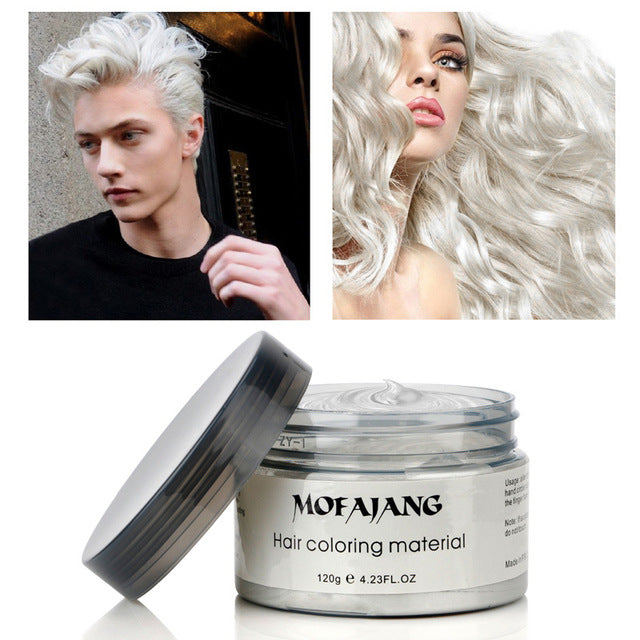 Grey Mofajang Hair Dye Cream