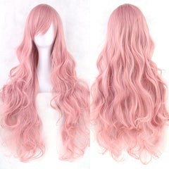 Cosplay Long Curly 32 Inch Wig