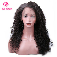 360 Curly Lace Frontal Wig