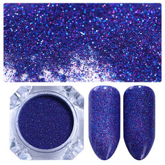 Galaxy Holographic Nail Glitter Dust