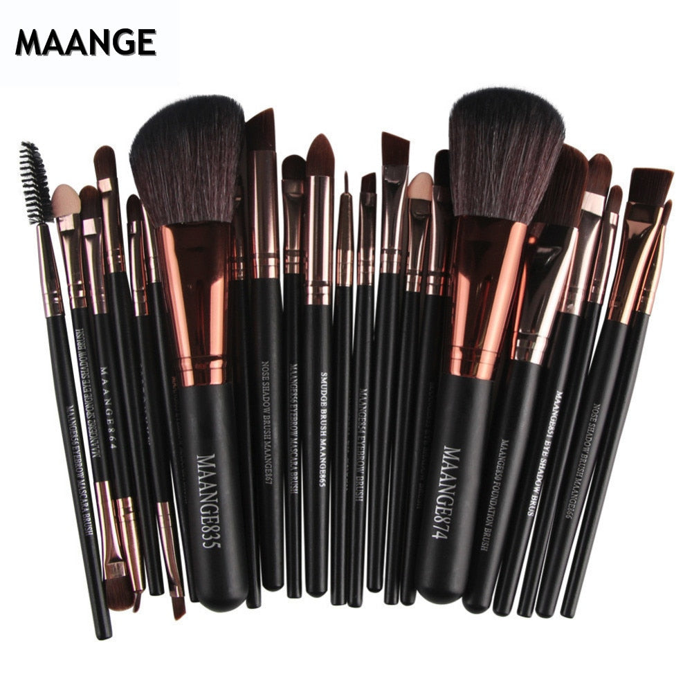 Pro 22pcs/set Makeup Brushes