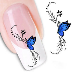 3D Butterfly Sticker