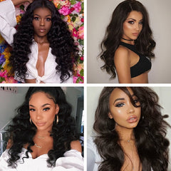 Brazilian Remy Lace Front Human Hair Wig