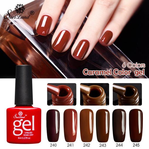 Caramel Nail Gel Polish