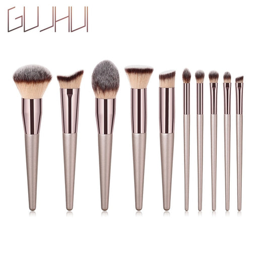 1PCS Wooden Foundation Makeup Brush