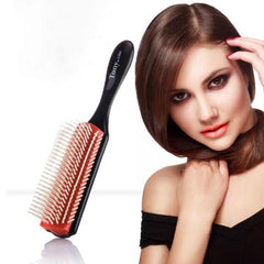 9-Row Comb and Edge Brush Set 3pc
