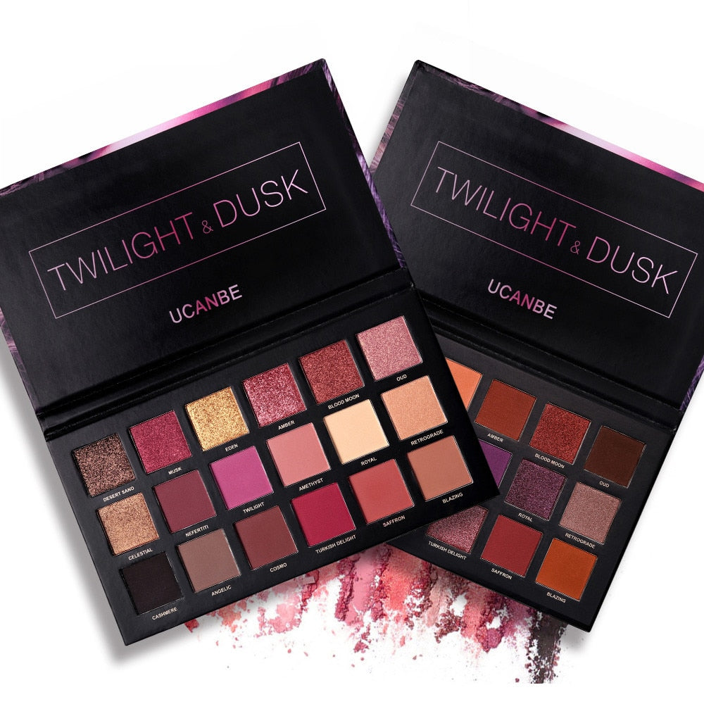 Twilight & Dusk Eyeshadow 18 Color Eyeshadow