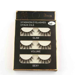 3D Eyelashes Natural Long