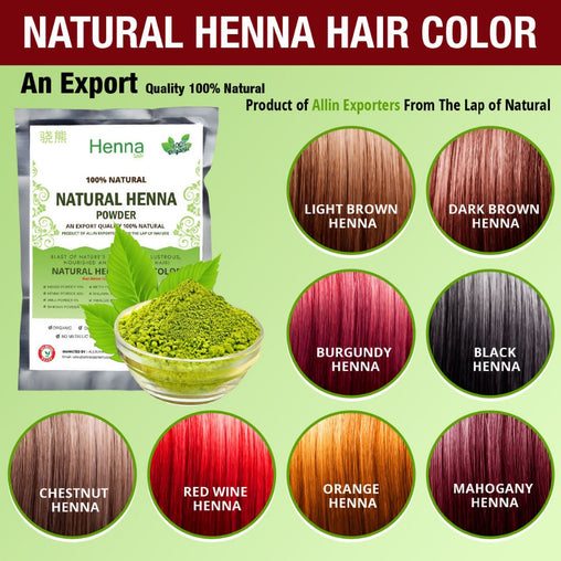 Organic Henna Hair dye/color 60 Grams  100% Chemical Free