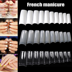 Half French Nail Tips
