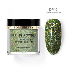 Holographic Dip Nail Powders