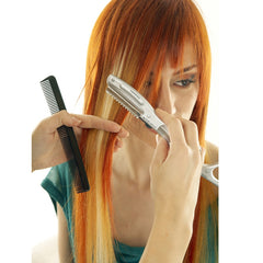 Ultrasonic Hot Vibrating Razor Comb For Hair Cut & Styling