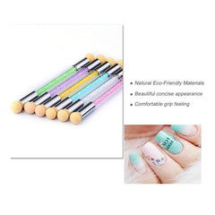 Glitter Powder Sponge Nail Brushes