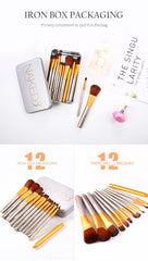 Nk 3  12 pcs Brush Set