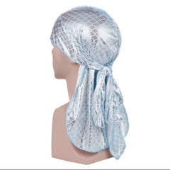 Long Silk  Breathable Doo Durag