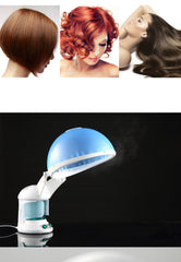 2 in 1 Hair and Facial Steamer with Bonnet