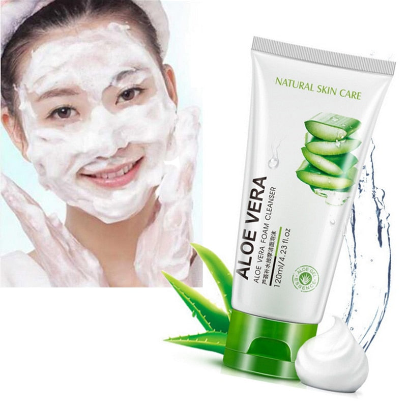 Aloe Natural Gel Facial Daily Cleanser