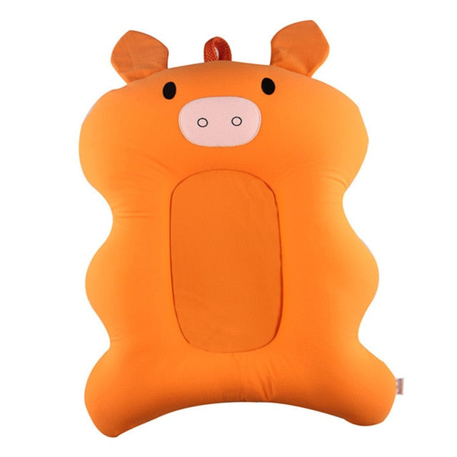 Baby Bath Tub Pillow Pad Air Cushion Mat Floating Soft Seat for Infant Newborn