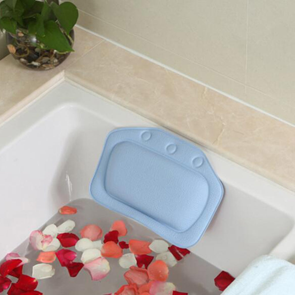 High Quality Household Comfortable Colorful Bathroom Supplies Bathtub Pillows
