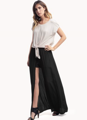 EXTREME LENGTHS MAXI SKIRT