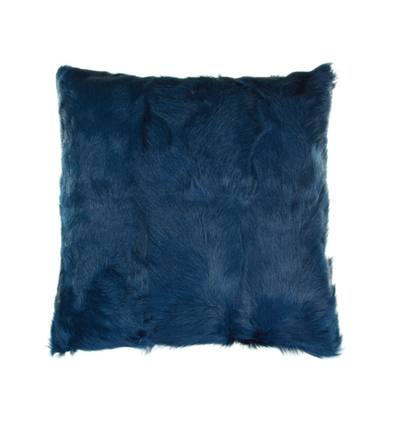 "16"" GOAT FUR PILLOW"
