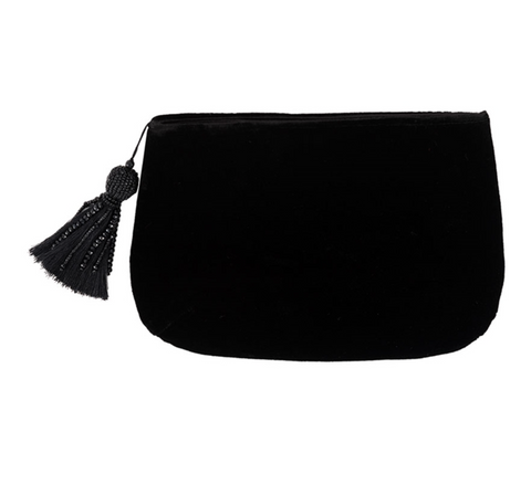 FILLIPA VELVET CLUTCH