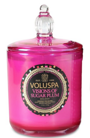 VOLUSPA CLASSIC MAISON CANDLE WITH GLASS LID