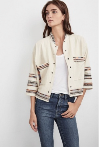 BILLEE EMBROIDERED JACKET