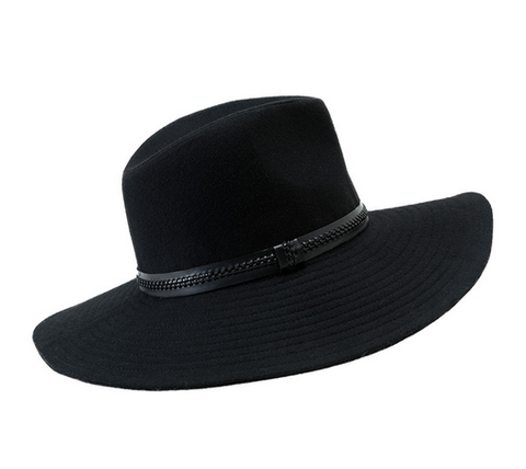 GAUCHO HAT BLACK