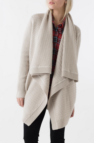 OFF DUTY SWEATER COAT