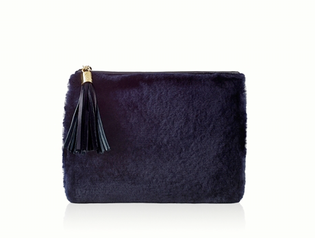 ALL IN ONE SHEARLING CLUTCH