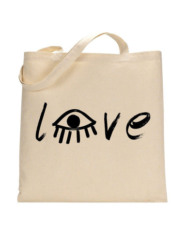 LOVE EYE TOTE