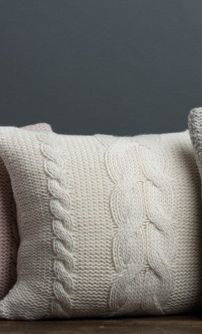 ICELAND BRAID PILLOW