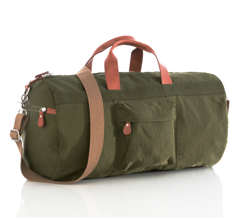 GREEN BEAU DUFFLE BAG