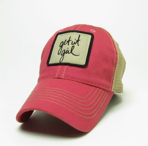 TRUCKER HAT: GET IT GIRL HAT