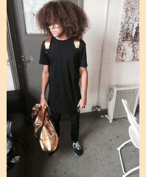 Diversity's Perri Kiely rocks the Mi-Pac Gold combo