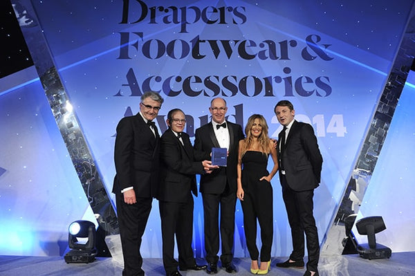 Mi-Pac Win 'Growing Brand of the Year' - Drapers Footwear & Accessories Awards 2014