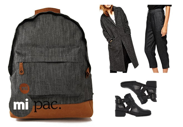 How to wear a Mi-Pac: Black Denim Winter Warmer
