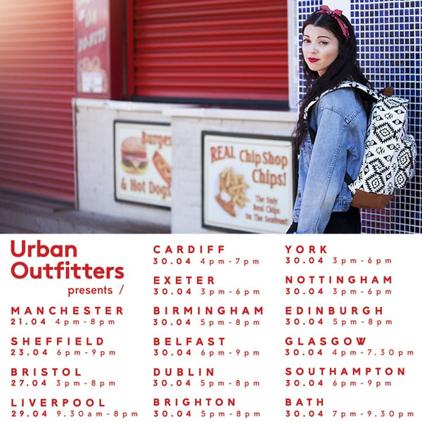 Student nights with Urban Outfitters