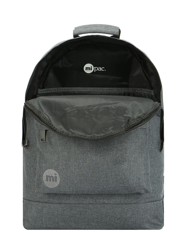 Mi-Pac Crosshatch Backpack - Anthracite
