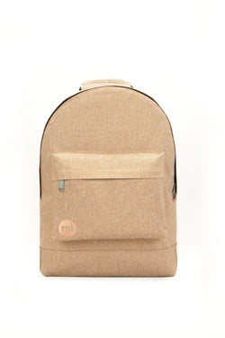 Mi-Pac Crosshatch Backpack- Chestnut